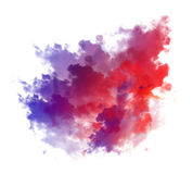 Abstract watercolor illustration Stock Image