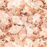 Abstract watercolor leaves pattern Stock Photo