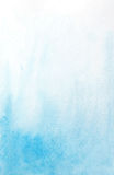 Abstract watercolor light blue background Stock Images