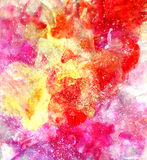 Abstract watercolor multicolored background Royalty Free Stock Photos