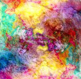 Abstract watercolor multicolored background Royalty Free Stock Image