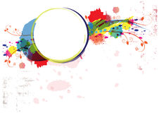 Abstract watercolor paint artwork Stock Photography