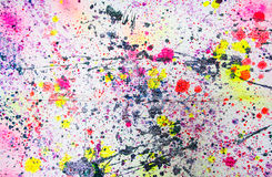 Abstract watercolor paint splash Stock Images