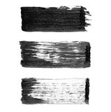 Abstract watercolor paintbrush lines for your project Royalty Free Stock Photography