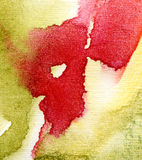 Abstract watercolor painted background Stock Image