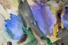 Colorful background wet. Abstract watercolor painted background art wallpaper paper stock photos