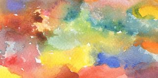 Abstract watercolor paint background. Paper texture stock photos