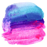 Abstract watercolor painted background. Royalty Free Stock Photography