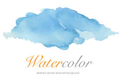 Abstract watercolor painted background. Paper texture Royalty Free Stock Photo