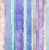 Abstract watercolor painted background. Abstract strip watercolor painted background Royalty Free Stock Photos