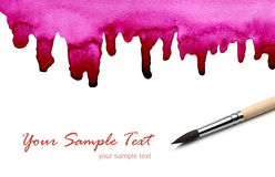 Abstract watercolor painted backgrounds Royalty Free Stock Photography