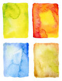 Abstract watercolor painted backgrounds Royalty Free Stock Photo