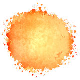 Abstract watercolor painted blot Royalty Free Stock Photos