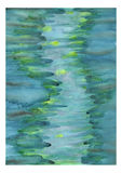 Abstract Watercolor Painting Royalty Free Stock Photos