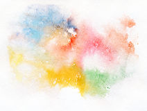 Abstract watercolor painting. Royalty Free Stock Photos