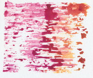 Abstract watercolor painting. Stock Photos