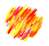 Abstract watercolor painting Royalty Free Stock Image