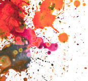 Abstract watercolor painting blots. Abstract watercolor painting blot background Stock Photography