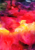 Abstract watercolor painting Royalty Free Stock Images