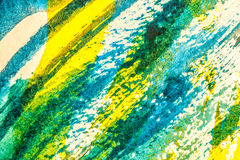 Abstract watercolor painting Stock Photos