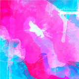 Abstract watercolor palette of  Grange color, Royalty Free Stock Image
