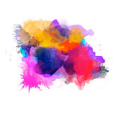 Abstract watercolor palette of  Grange color, Royalty Free Stock Photos