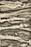 Abstract watercolor on paper texture as background. In Sepia ton stock image
