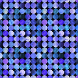 Abstract watercolor pattern with circles. Abstract watercolor seamless pattern with gradient circles Royalty Free Stock Images