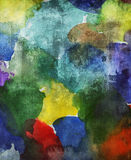 Abstract watercolor pattern Stock Photo