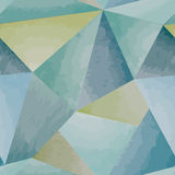 Abstract watercolor pattern. Tiled geometric seamless background Royalty Free Stock Photo