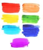 Abstract watercolor rainbow Royalty Free Stock Photo