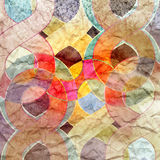 Abstract watercolor retro background Royalty Free Stock Photo