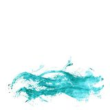 Abstract watercolor sea Stock Photography