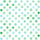 Abstract watercolor seamless pattern Stock Photos
