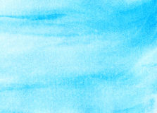 Abstract watercolor sky, clouds Stock Images