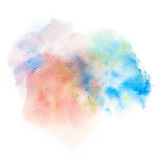 Abstract watercolor splash background. Stock Photos