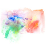 Abstract watercolor splash background. Stock Photo