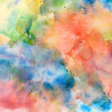 Abstract watercolor splash background. Stock Images