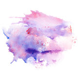 Abstract watercolor splash background. Royalty Free Stock Images