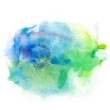 Abstract watercolor splash background. Royalty Free Stock Photos