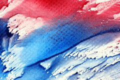Abstract watercolor splash Stock Photo