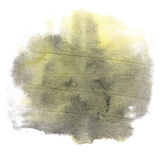 Abstract watercolor splash. watercolor drop isolated blot black yellow for your design art. Abstract watercolor splash. watercolor drop isolated blot black Royalty Free Illustration