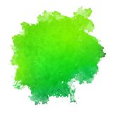 Abstract Watercolor Spot Painted Background Stock Photo