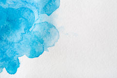 Abstract watercolor spot painted texture background Royalty Free Stock Photo