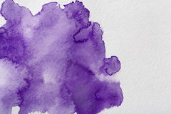 Abstract watercolor spot painted texture background Royalty Free Stock Images