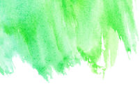 Abstract watercolor stripes. With space for text Stock Photo