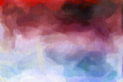 Abstract Watercolor Texture Royalty Free Stock Photo