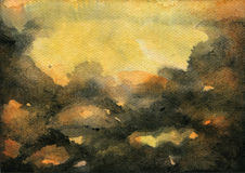 Abstract Watercolor Texture Royalty Free Stock Photos