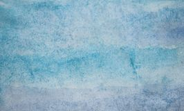 Abstract watercolor texture on white paper background. Creative vibrant grunge watercolor background royalty free stock photography