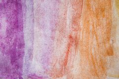 Abstract watercolor texture on white paper background. Creative vibrant grunge watercolor background stock photography